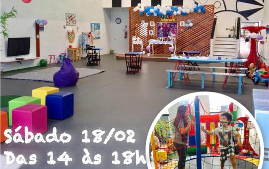 Festa no Espaço Brincar - Sábado 18/02