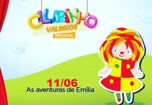 Shopping Valinhos terá contação de história caipira e teatro sobre a Emília