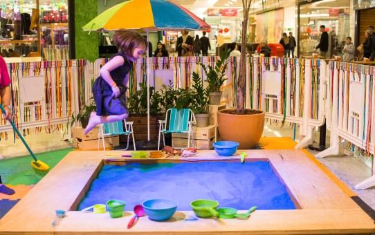 Férias | 'Quintal no Parque' é a nova atração Parque D. Pedro Shopping