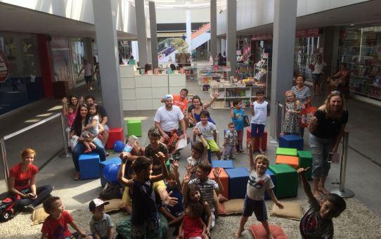 Uniteatro - Peças gratuitas animam as crianças no Unimart Shopping