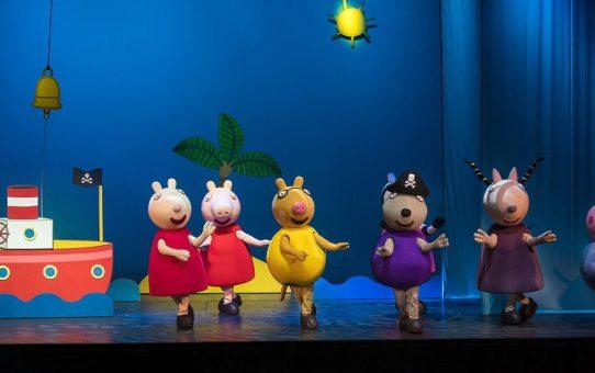 Peppa Pig no Teatro Iguatemi em Agosto