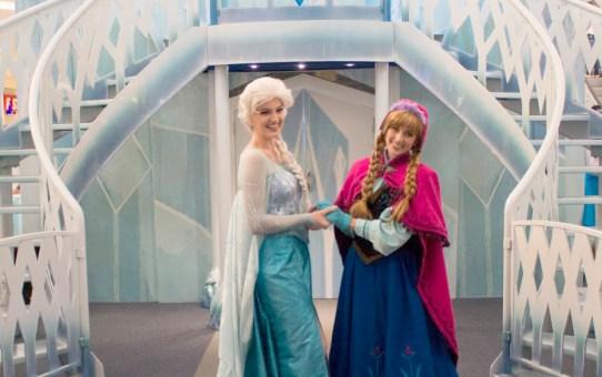 Atração gratuita: Frozen – Brincadeira congelante