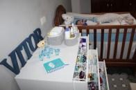 Organização no quarto do bebê