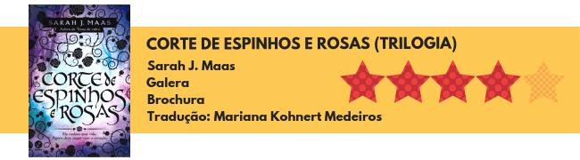 Ficha técnica Corte de Espinhos e Rosas - 4 estrelas