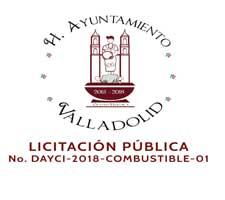 LICITACIÓN PÚBLICA No. DAYCI-2018-COMBUSTIBLE-01