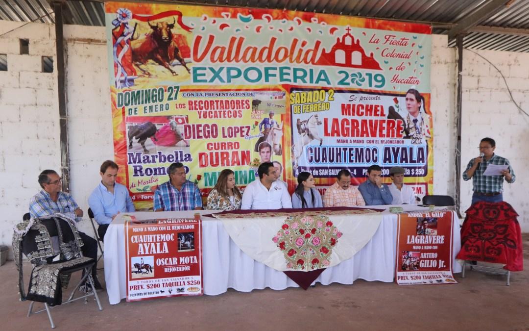 Gran cartelera taurina para la Expoferia Valladolid 2019