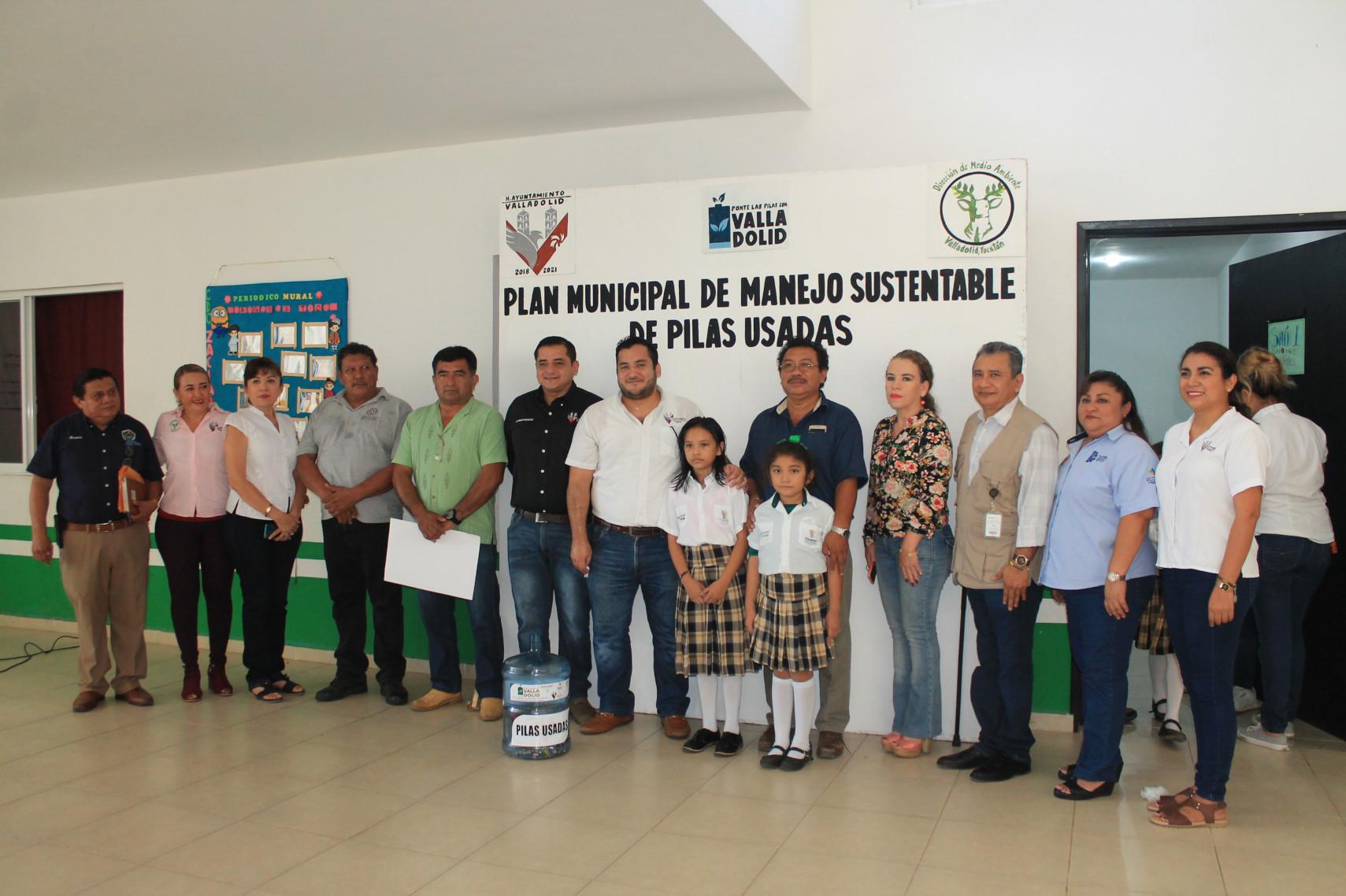Arranca programa manejo sustentable de pilas, por la preservación del Medio Ambiente
