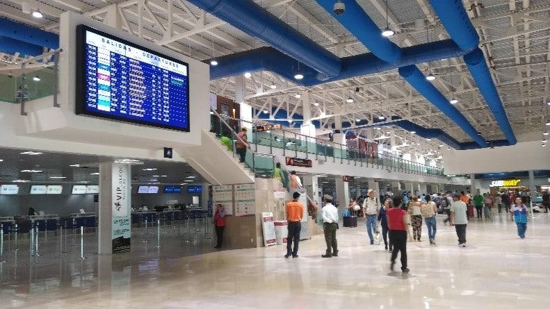 Puerto Vallarta Airport from inside