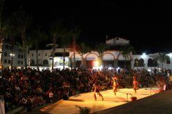 Danza azteca, P. Vallarta, Malecon 4