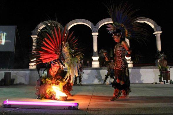 Danza azteca, P. Vallarta, Malecon 7