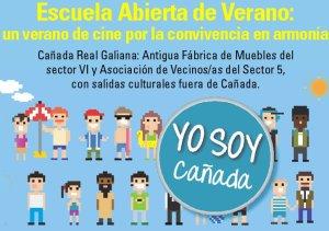 Escuela abierta de verano en la Cañada Real
