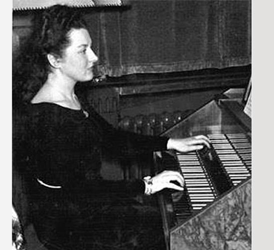 María Luisa Gefaell, joven.