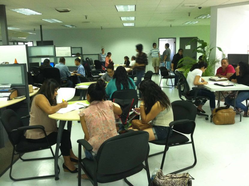 Taller Accion Diferida en Fresno 27 de Junio 2015, Consulado de Mexico