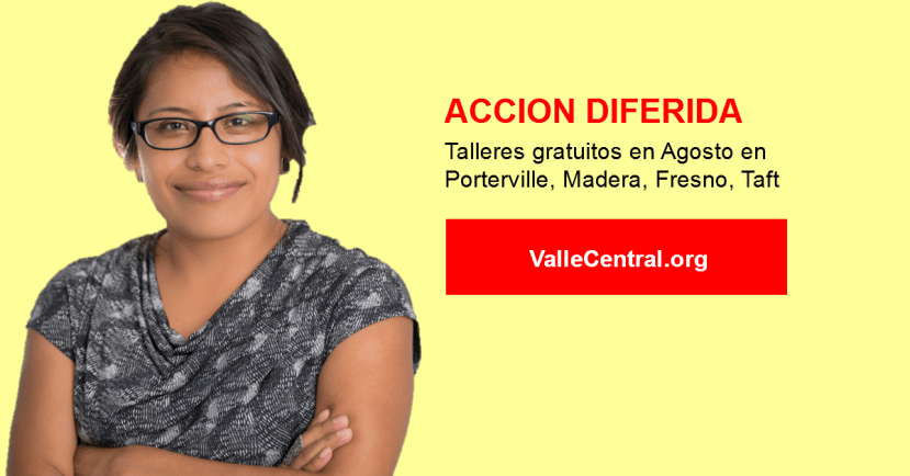 Taller de Accion Diferida en Taft California