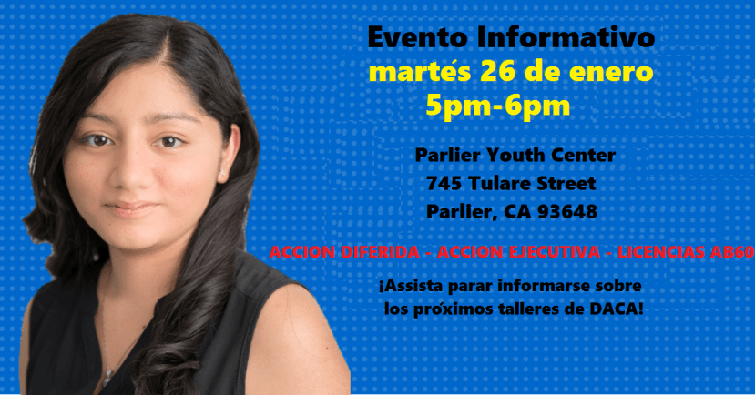 Informational event in Parlier, CA January 26, 2015