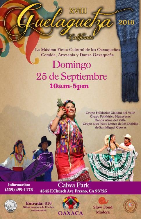 Informacion Sobre Ciudadania y Accion Diferida en Guelaguetza de Fresno 25 septiembre 2016