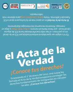 El Acta de la Verdad California Truth Act California Immigrant Policy Center