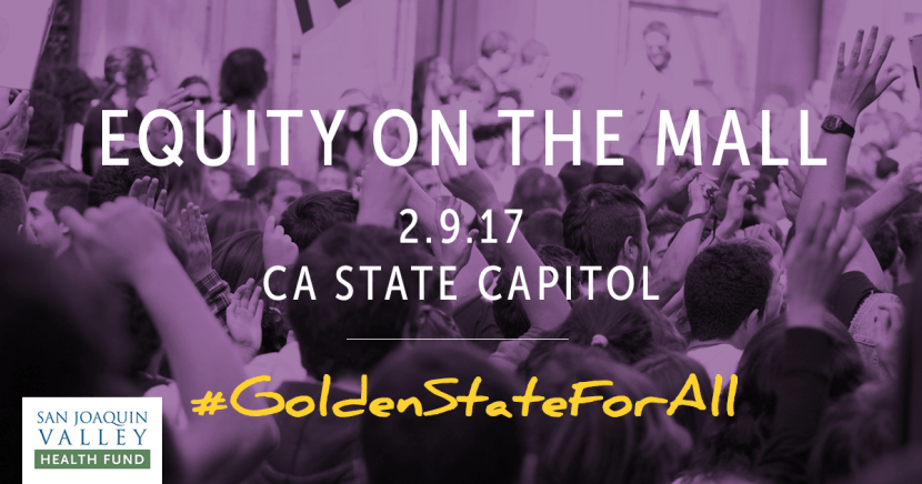 CVIIC participates in equity on the mall event in Sacramento February 9, 2017