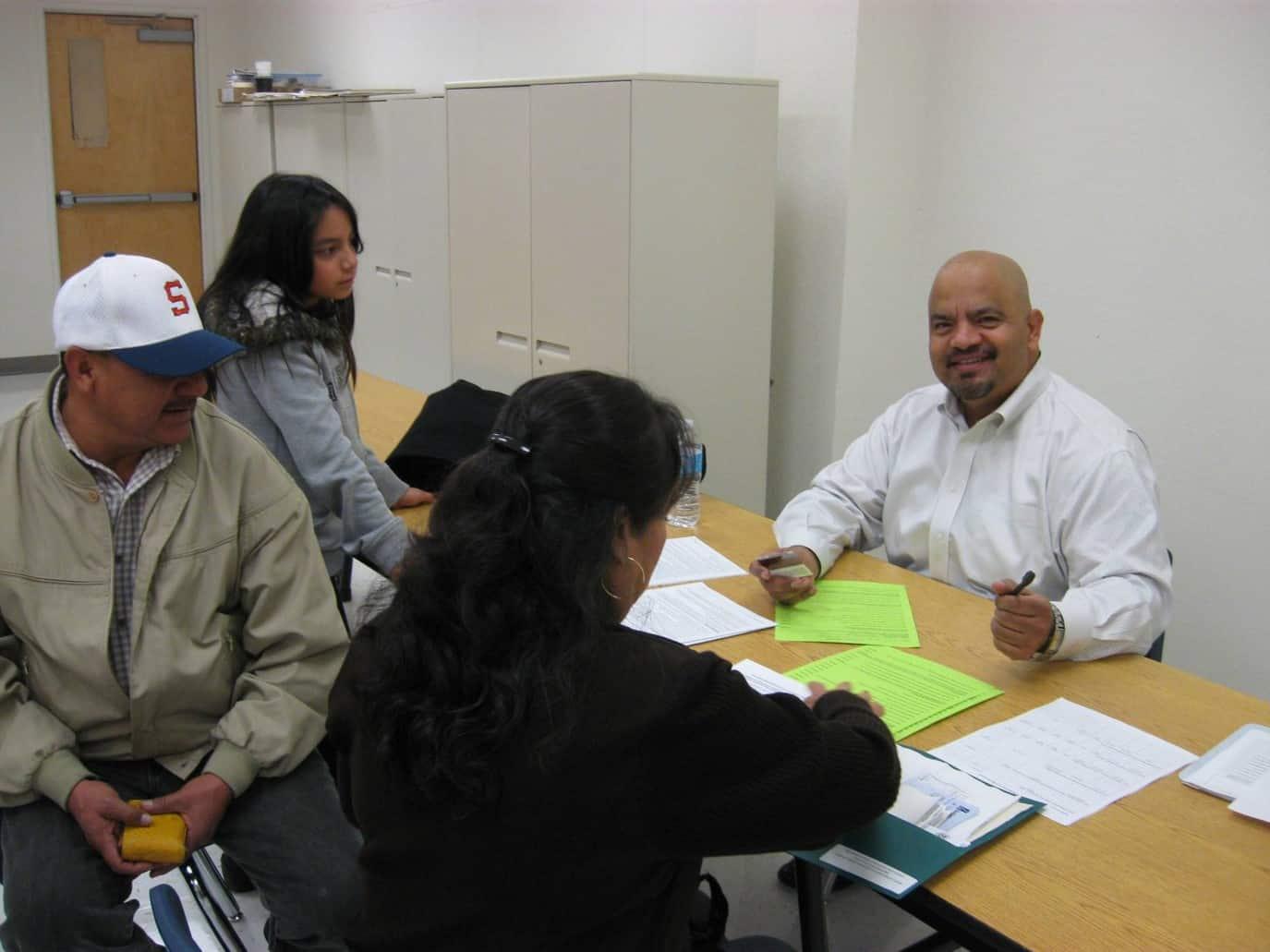 Citizenship Pre-Screening in Fresno May 13 2017 Mi Familia Vota