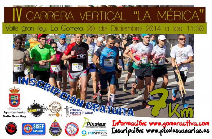 CARTEL IV Carrera Vertical La Mérica