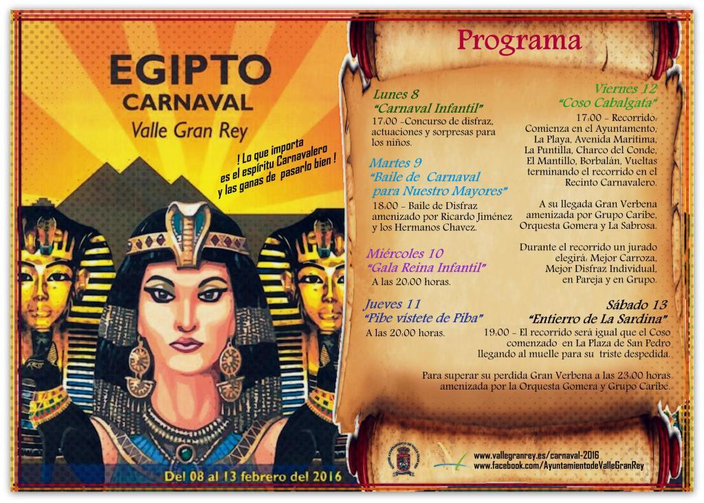 Programa de Carnaval 2016