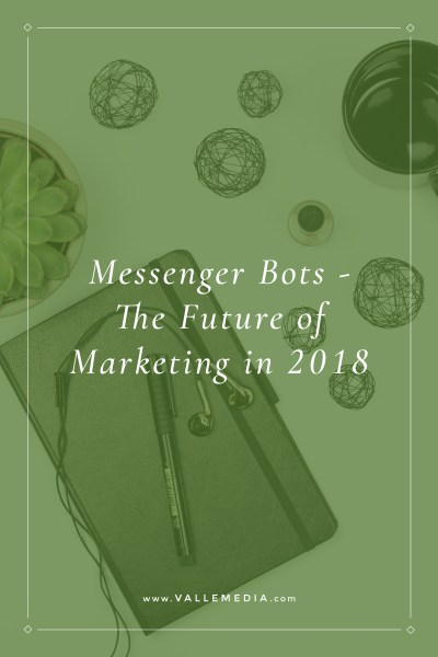 Messenger Bots - The Future of Marketing in 2018