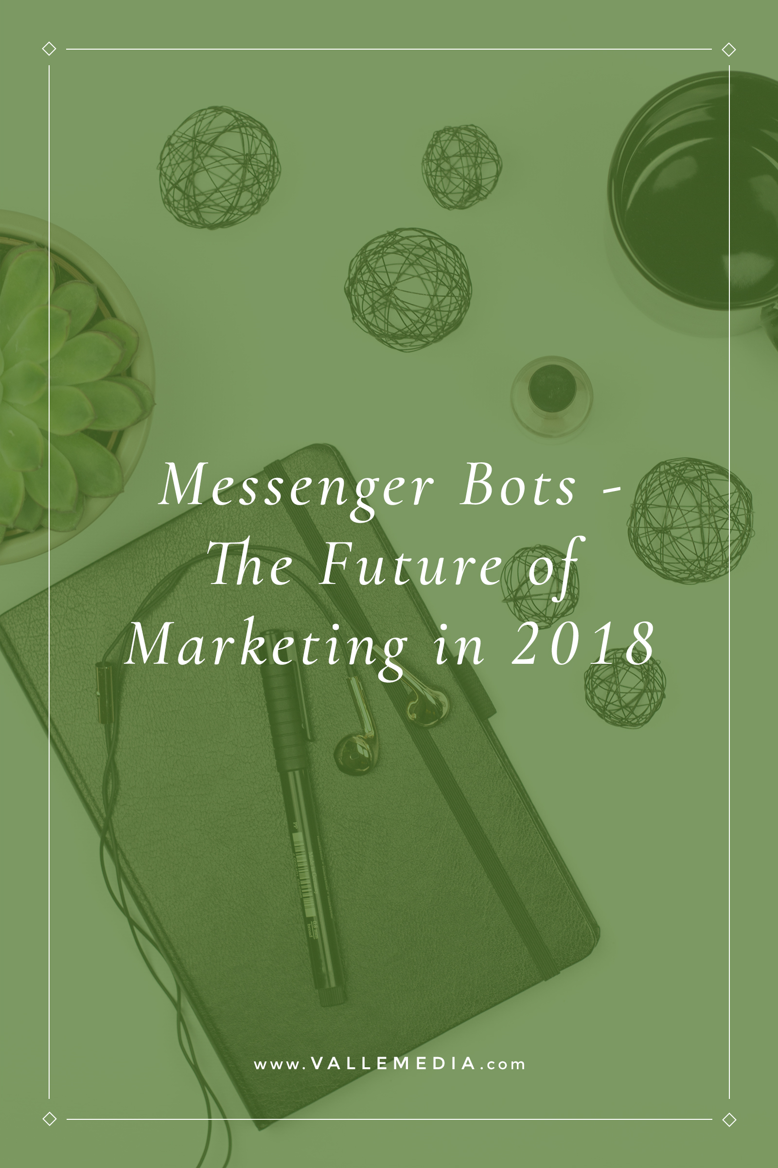 Bots seem to be everywhere these days. Join me as I break down the 4 main reasons I think bots are awesome and the future of digital marketing in 2018.