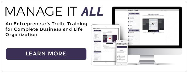 Manage It All Trello Training