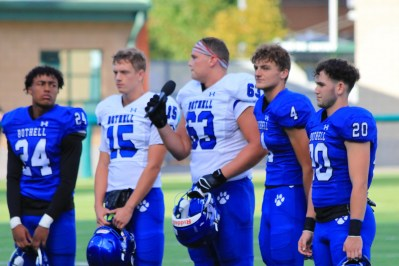 2021 Bothell Football captains