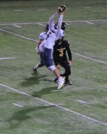 Connor Taber goes for the catch