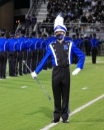 Junior Drum Major - I should really remember this guy's name.