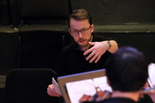 Dr. Ryan Dudenbostel, WWU Director of Orchestral Studies