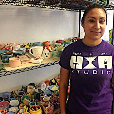 Hands In Art owner Margie Ramirez has built a business out of teaching art techniques to young people.
