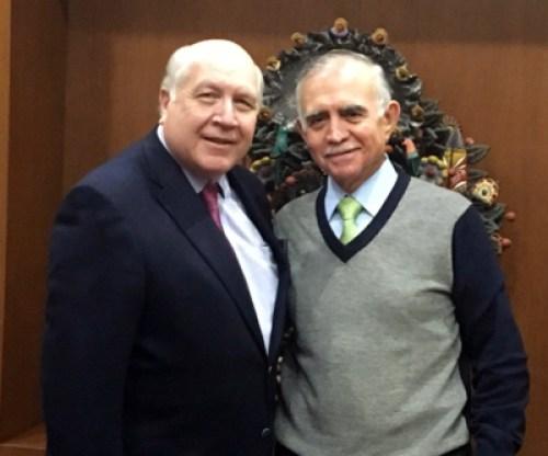 Gerry Schwebel and Alfonso Romo