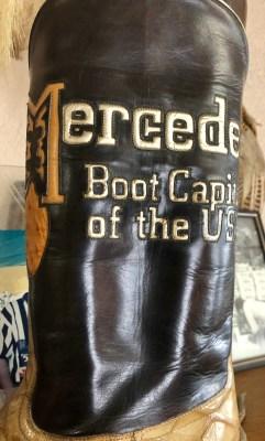 Camargo boots often feature art work.
