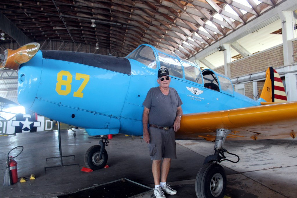 CAF pilot Olen Hull talks about a PT-26 that will fly this weekend.