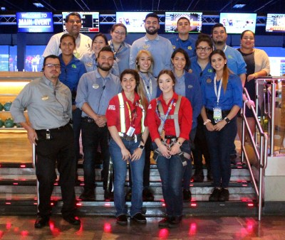 The staff at Main Event is always ready to offer the best in customer service in order to ensure that all of their guests have a great time. (VBR)