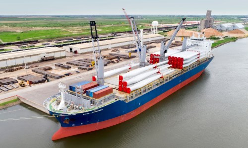 The Port of Brownsville expansion is beginning to allow larger commercial and industrial vessels to enter the shipipng channel, bringing more growth to the RGV. (John Faulk)