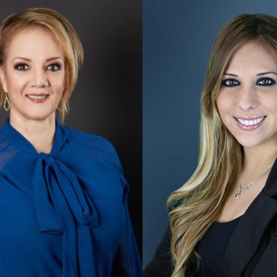Hilda Pedraza and Anali Alanis