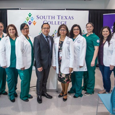 The inaugural cohort of STC's new RN to Bachelor of Science in Nursing students. (photo STC)
