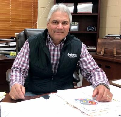 """Armando """"Mando"""" Correa, the general manager of the RGV Livestock Show. (VBR photo)"""