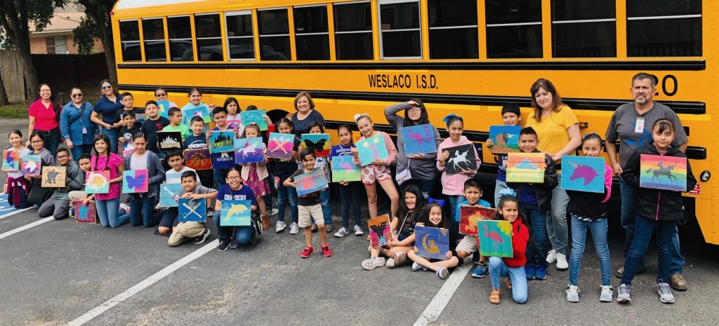 Coastal Americana Sign Co. is also available for booking at schools for painting parties.