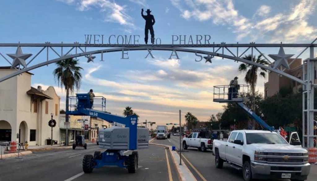 Pharr has remained busy during the COVID-19 era. (Courtesy)