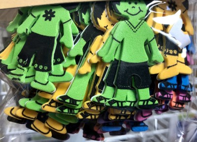 Ornaments and figures such as these are widely used in classrooms.