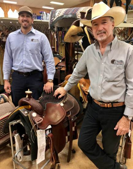 Greg Martin and Doug Martin are the second and third generation family members to run Martin's Farm & Ranch Supply.