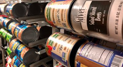 The Salvation Army food pantry offers assistance to thousands of families yearly.
