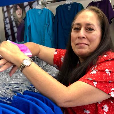 Aracely Salinas honors her late husband, a paramedic, through her business.