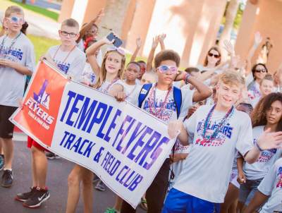 Youth sporting events bring in athletes from all over Texas, including this team from Temple. (Courtesy)