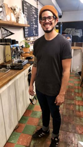 Thomas Garcia and his wife, Ashley, opened Bandera Coffee in 2018 in the La Placita section of downtown Harlingen.
