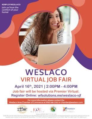 Weslaco Virtual Job Fair
